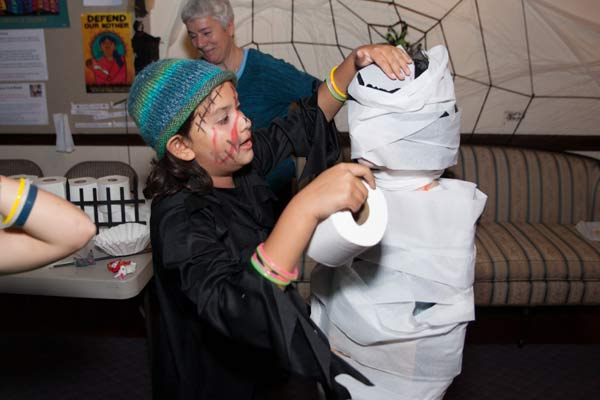 Halloween at First Parish in Brookline