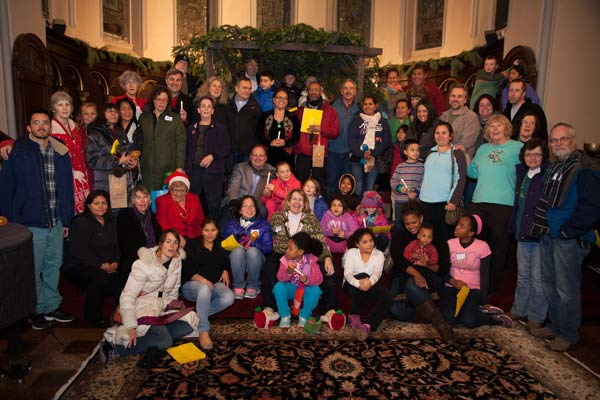 Las Posadas at First Parish in Brookline