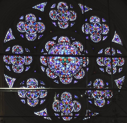 World War One Memorial Rose Window