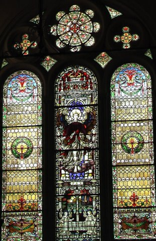 Weld Memorial Window at First Parish in Brookline
