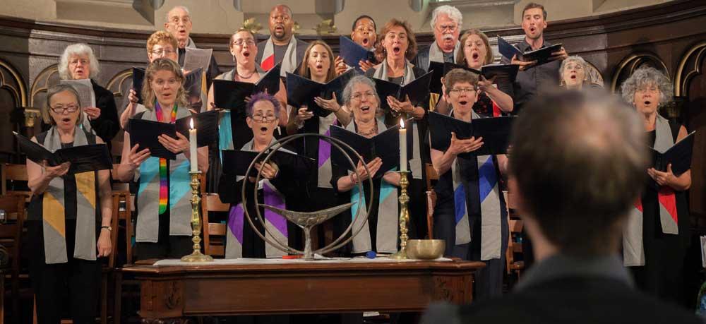 The First Parish in Brookline Choir