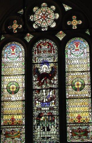 Weld Memorial Window at First Parish in Brookline